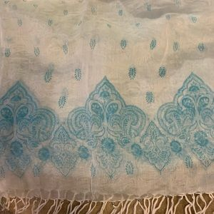 """Accessories - Sheer scarf 24"""" wide"""